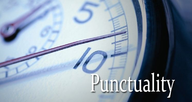 We take care of your punctuality