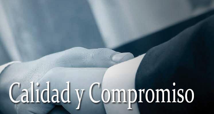 Calidad, servicio y compromiso