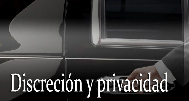 Discreción y privacidad.